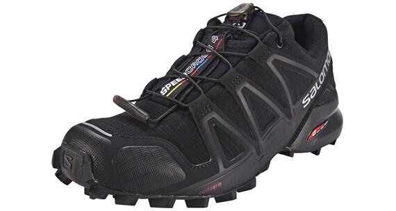 Salomon Speedcross 4 Trailrunning Shoes Women Black/Black/Black Metallic